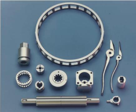 شکل 2: نمونه قطعات قابل تولید با فرایند خان کشی