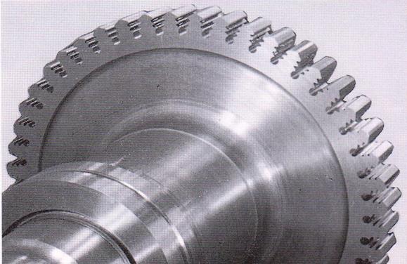 شکل 8: نمونه دیسک توربین تولید شده توسط خان کشی
